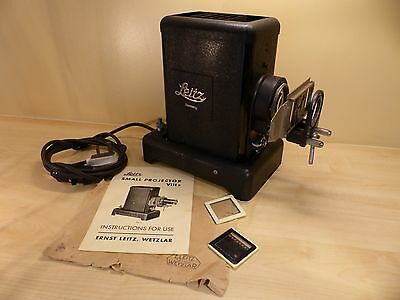 Leitz VIII S Slide Projector - No Lens - Good Used Condition - Not Tested