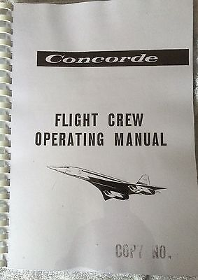 Concorde Flight Crew Operating Manual