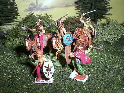 Painted Celtic Cavalry. Scale 1:72.