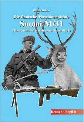 The Finnish Submachine Gun Suomi M/31 KP-31 !! Free shipping !! Signed by author