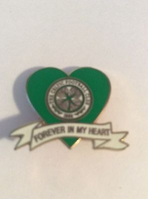 A Nice Celtic Forever In My Heart Enamel Badge.