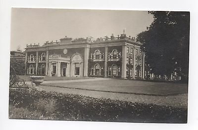 Real Photo Stately Home Manor Large Country House Unknown Location Where ?