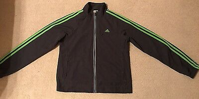 ADIDAS Women's Climalite Wind proof Lightweight Shell Running Jacket Size 14