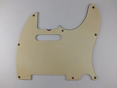 Relic AGED WHITE 8 hole SCRATCH PLATE Pickguard #16 for 1960s TELECASTER guitar