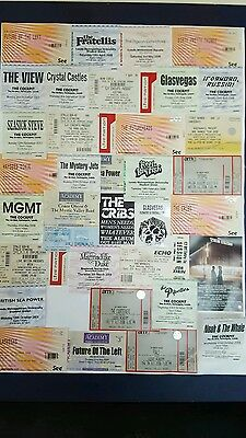 Unique Job Lot Indie Gig Tickets Leeds Manchester Display Poster