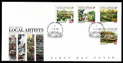 Singapore 1992 FDC Local Artists