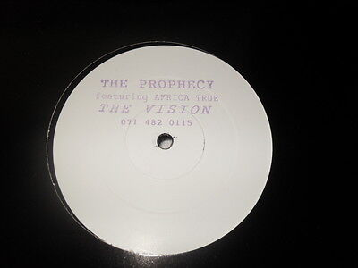 The Prophecy feat. Africa True The Vision, white label promo, leftfield, breaks