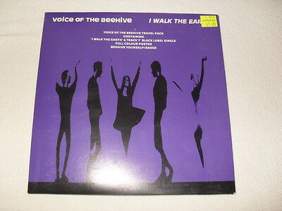 "Voice Of The Beehive - I Walk The Earth 7""  w/ poster"
