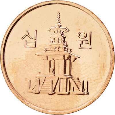 [#88212] KOREA-SOUTH, 10 Won, 2011, KOMSCO, KM #103, MS(63), Copper Clad