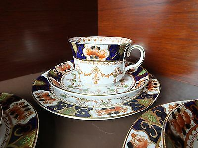 A Royal Stafford Cup, Saucer & Plate Trio, Pattern 2843.