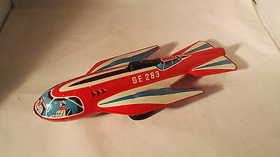 Technofix Ge-283 Space Ship - Made In  Western Germany 1956