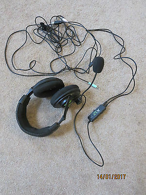Turtle Beach X12 Ear Force Headset for Xbox 360/PC Gaming Headphone WireB