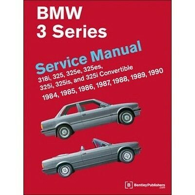 BMW 3 Series Service Manual 1984-1990 (E30) Now in Hardcover book paper