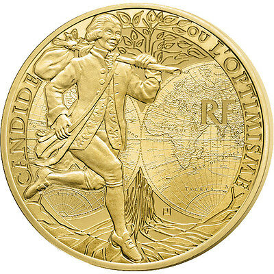 [#86606] France, 50 Euro, 2014, MS(65-70), Gold, 8.45