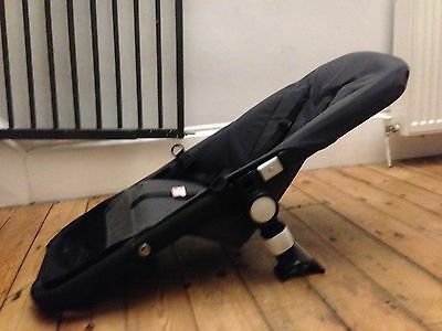 REDUCED GORGEOUS BUGABOO CAMELEON 1/2 SEAT Frame & FABRICS Gray FRAME FITS FROG