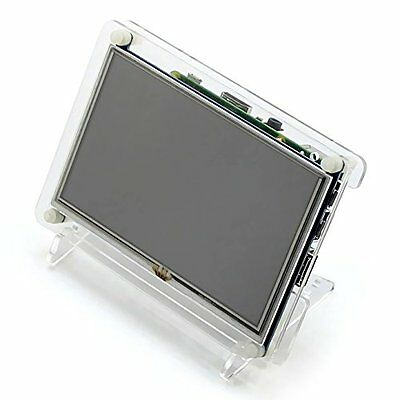 5 Inch Transparent Bracket Case for 5 Inch Raspberry Pi HDMI LCD