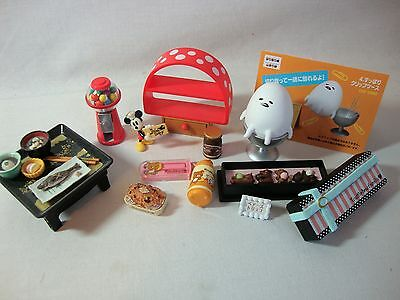 RE-MENT Small Mixed LOT Great for Barbie Blythe 1/6th Scale Plastic US SELLER