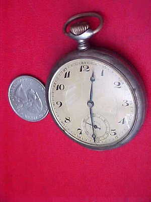 Junghans Pocket Watch .800 Silver