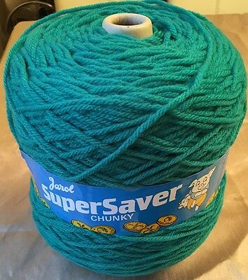 New 500g Chunky Acrylic Knitting Wool Lovely Jade Green