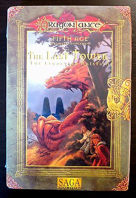 Dragonlance Last Tower The Legacy of Raistlin Box Set NEW