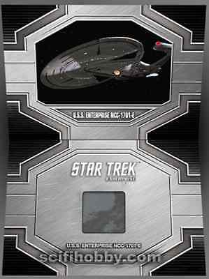 Star Trek 50th Anniversary trading cards ENTERPRISE Prop Relic incentive card