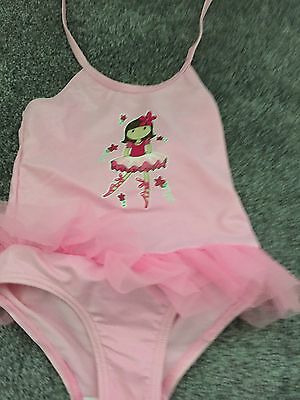 Brand New girls Size 2 Ballerina Swimmers Togs