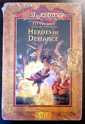 Dragonlance Heroes of Defiance Box Set NEW