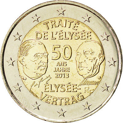 [#85012] France, 2 Euro, 2013, MS(63), 8.50
