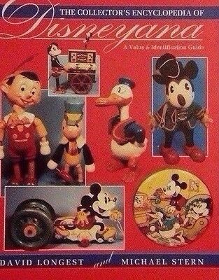 DISNEY MEMORABILIA VALUE GUIDE COLLECTOR'S BOOK 1930's - 1960's