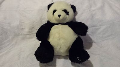 Harrods Footdated Christmas Panda Bear - 1993 - 13 inches seated