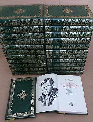 ***  Jack London.  Oeuvres Complètes 25 Volumes   ***   Edito Service 1974