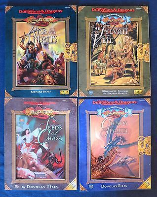 Dragonlance Adventures Rise of the Titans Seeds of Chaos Sylvan Veil Chaos Spawn