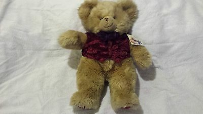 Harrods Footdated Christmas Bear - 1996 - 13 inches seated