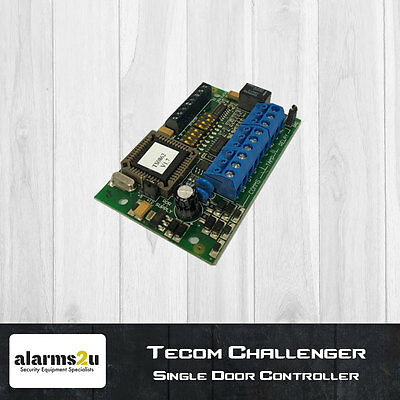Tecom Challenger Single Door Controller TS0862 | Used | 100% Working & Tested