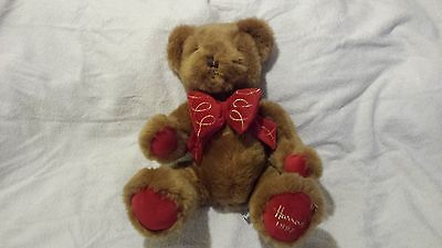 Harrods Footdated Christmas Bear - 1997 - 13 inches seated