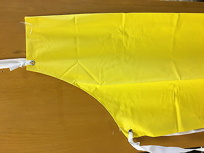 "Lab Protective Apron. New, unopened. 45""Lx35""W. Thick, double-coated PVC/Nylon."
