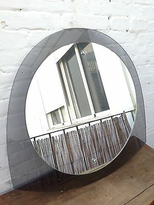 Unique & Large Vintage  1950-60s Mid Century Space Age W Italian Wall  Mirror