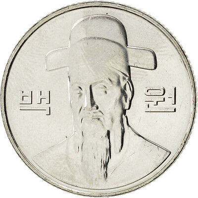 [#88208] KOREA-SOUTH, 100 Won, 2011, KM #35.2, MS(63), Copper-Nickel, 24, 5.43