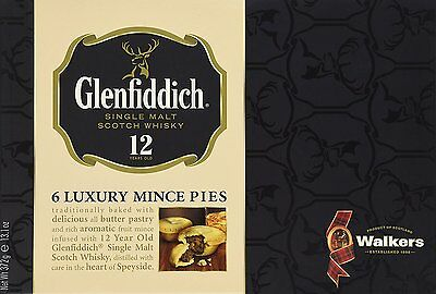 Walkers Shortbread Glenfiddich Mince Pies Pack of 2