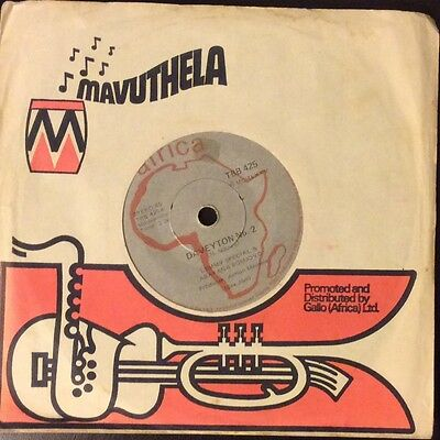 "LEMMY SPECIAL Daveyton No.3 Tamatie special RARE South African  7"" 1975 Sax Jive"