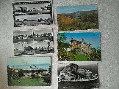 Dunoon And Scottish Collection Of Postcards