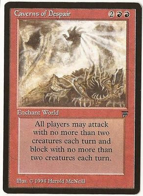 Magic the Gathering Caverns of Despair Legends Rare Near Mint