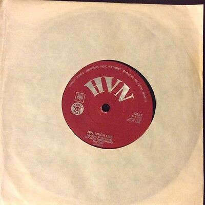 "THOMAS MOTSHWANE Jive Much One/ Mofolo Gig 500 South African  7"" 1973 HVN (CBS)"