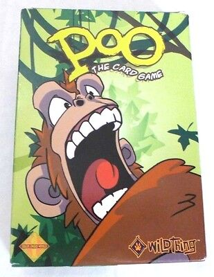 Poo: The Card Game (2nd Edition) Fun Strategy Games  New!!