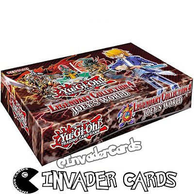 YuGiOh Legendary Collection 4 Joey's World LCJW Collector Empty Card Storage Box
