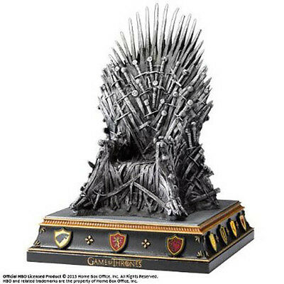 Noble Collection - Game of Thrones Iron Throne Bookend - (New)