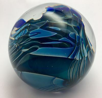 "Randy Strong Paperweight  ~3 1/4"" Dia.  1978"