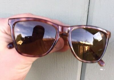 Vintage Ll Bean Tortoise Brown Square Outdoor Glasses