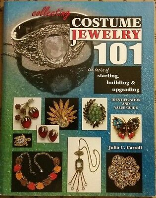 Costume Jewelry Memorabilia 101 Price Guide Collector's Book  All Color