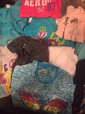 Huge Lot of girls clothes 14 Pieces size 7 EUC